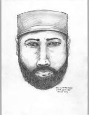 The RCMP released this composite sketch of a man they wish to speak with regarding the Fowler and Deese investigation.