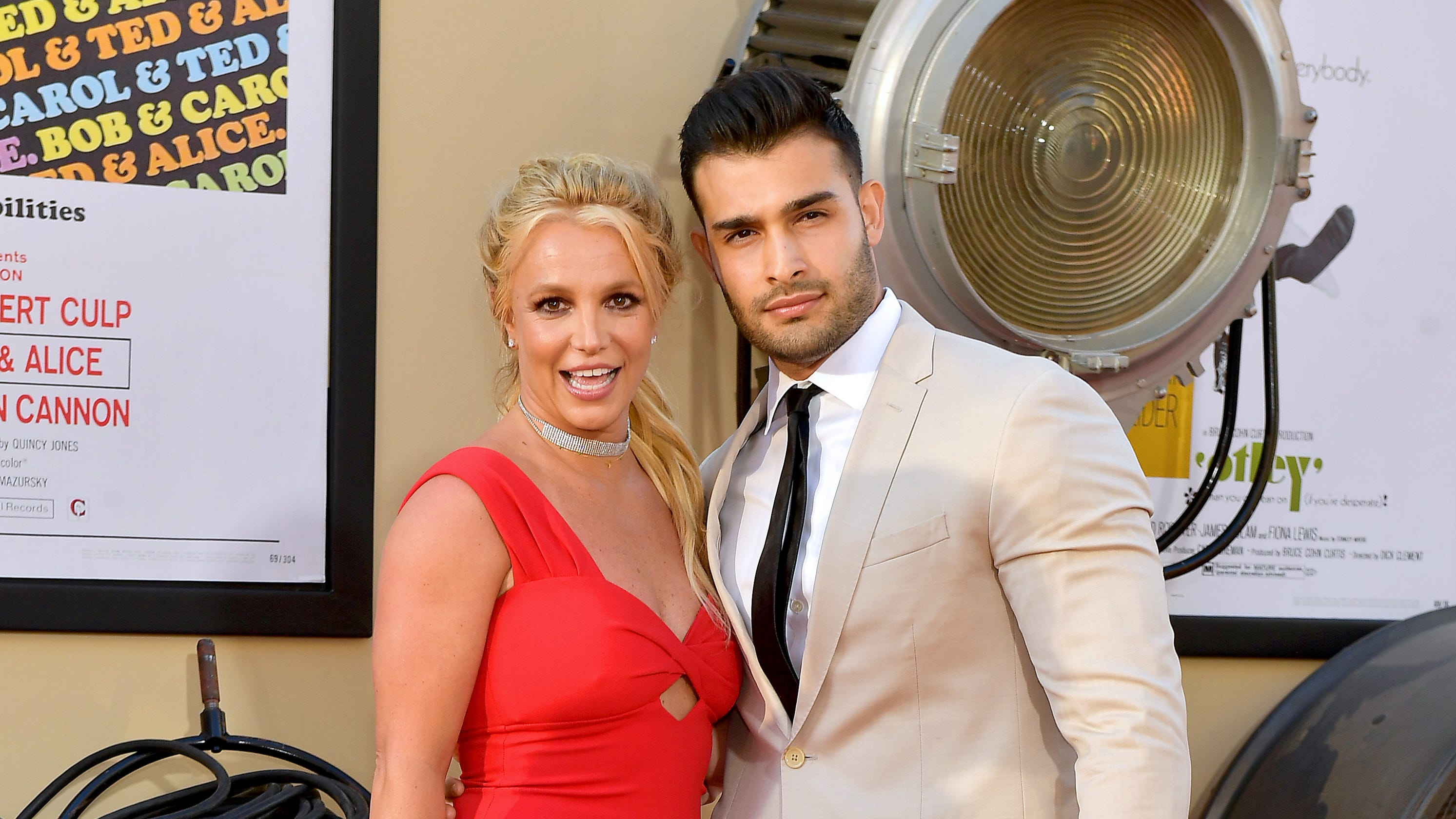 'Once Upon A Time': Britney Spears, boyfriendSam Asghari attend 'first premiere' together