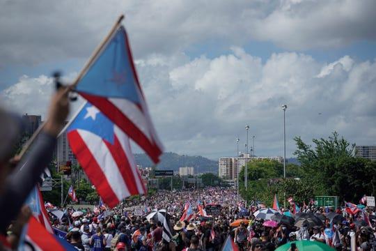 More people taking to the Las Americas Highway in San Juan.
