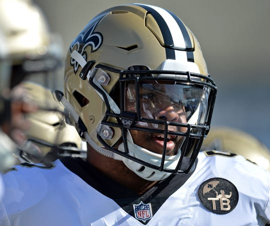 5. New Orleans Saints (3): New TE Jared Cook and second-year DE Marcus Davenport need to be difference makers for club on cusp — especially as team adjusts to loss of C Max Unger and RB Mark Ingram. And no word on Lady Luck's travel plans for January.