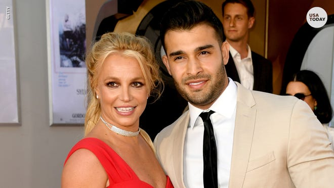 Britney Spears Boyfriend Attend First Premiere Together In La