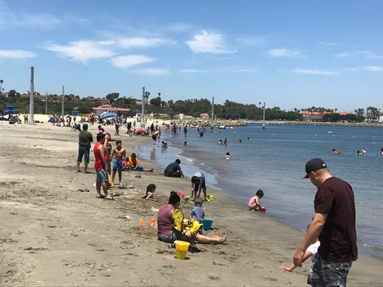 Cabrillo Beach in the San Pedro section is listed as having the highest frequency of high bacteria counts in California, though it is clean many days of the year