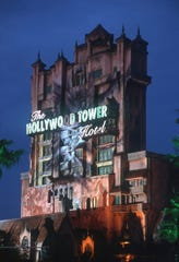 The incident took place at the Tower of Terror ride within the Hollywood Studios theme park at Disney World.