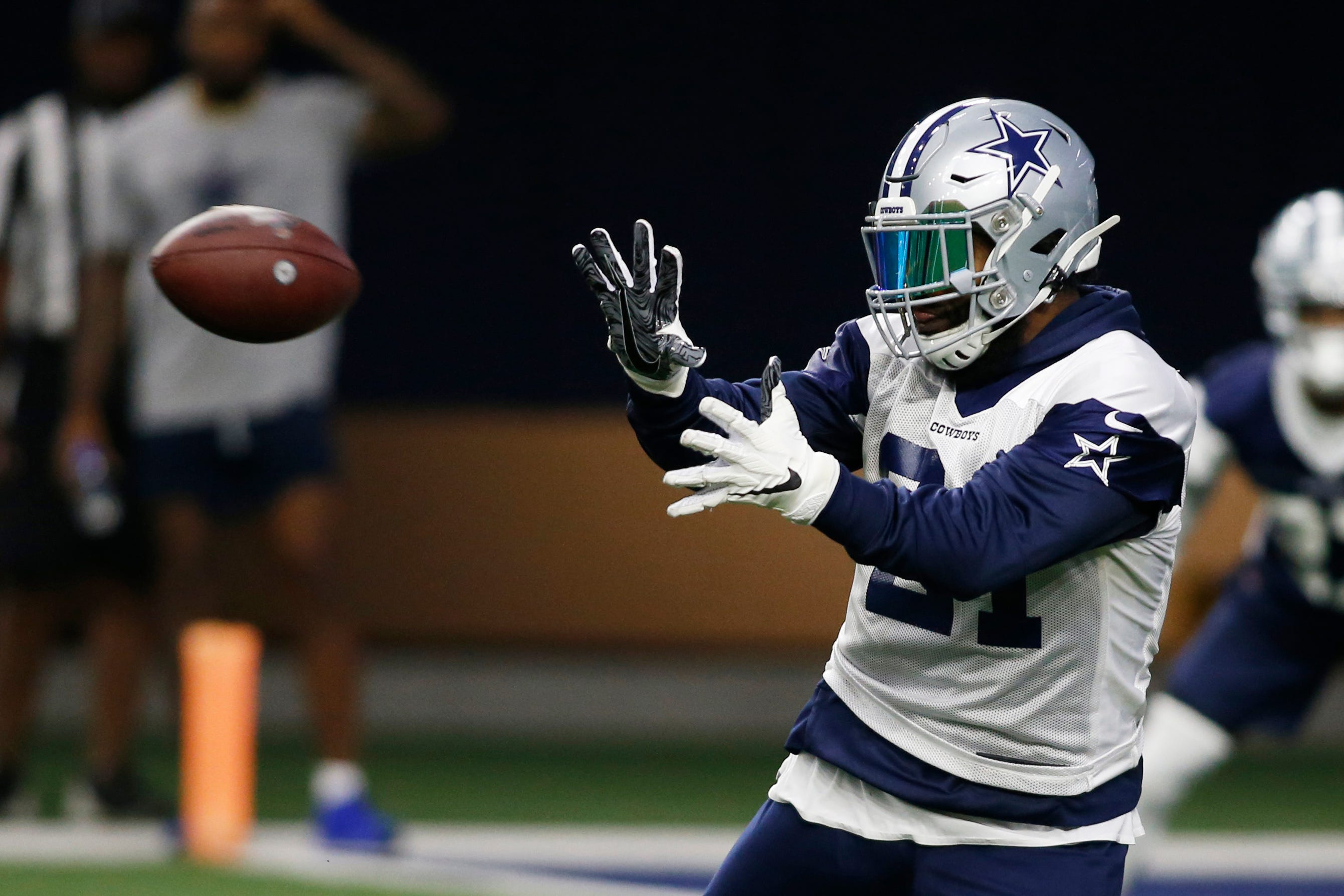 630cceaa With Ezekiel Elliott out, these RB's have golden opportunity