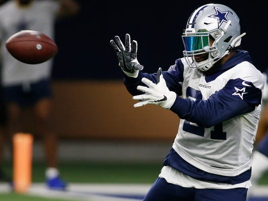 15. Dallas Cowboys (15): Team prone to distractions has a lot of unfinished contractual business. DE DeMarcus Lawrence, who did cash in, may miss start of season in wake of shoulder surgery. Might same go for RB Zeke Elliott?