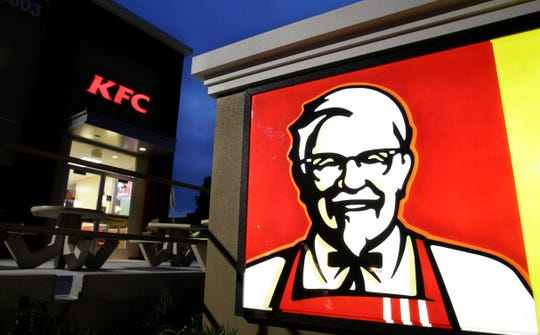 A KFC restaurant in Mountain View, California, on  April 18, 2011.