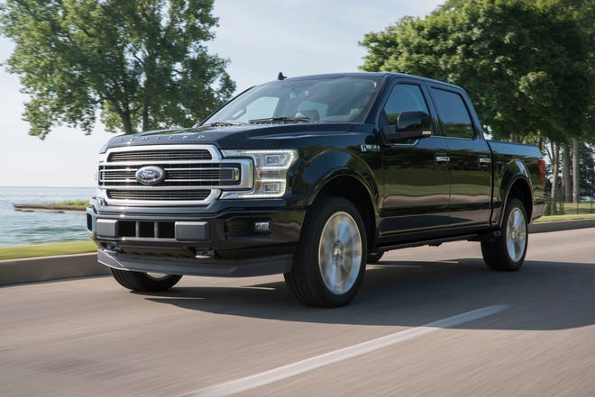 The 2019 Ford F-150.