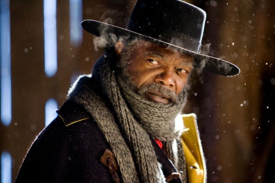 "Samuel L. Jackson stars as a bounty hunter and Civil War hero in ""The Hateful Eight."""