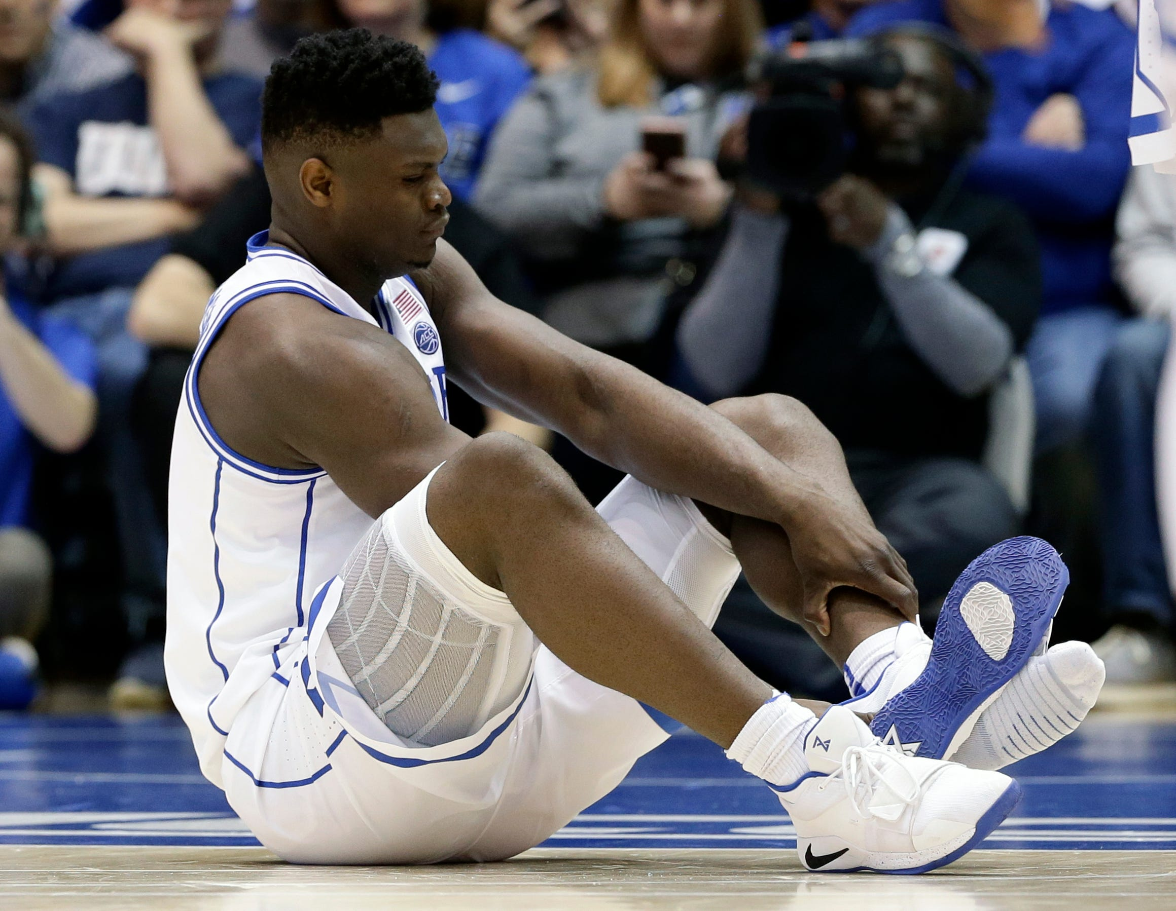 Why Zion Williamson's shoe blowout wasn