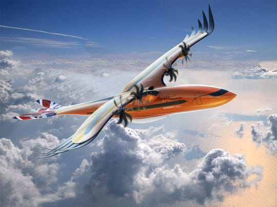 "Airbus is working to inspire the latest and greatest in flight innovation – and using a ""bird of prey"" conceptual design to do so."