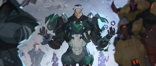 Sigma is the 31st hero in the video game Overwatch.