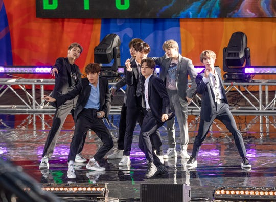 South Korea's biggest export, K-Pop act BTS, performs on ABC's
