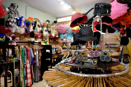 "Honeypot Vintage Emporium in downtown Asheville sell clothes from many eras. Recently they sold many items of clothing from the 1980s for use in the Netflix show ""Stranger Things."""