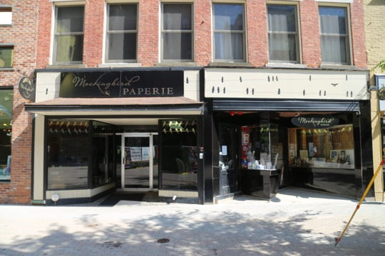 Mockingbird Paperie is located at 144 E. State Street in downtown Ithaca.
