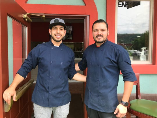 Cousins Jose Rodriguez and Alirio Bazan opened Hacienda Pizzeria behind Hacienda Mexican Restaurant in Binghamton.