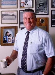 """Robert """"Bob"""" Anderson was athletic director at Brevard Community College in this 1991 photo."""