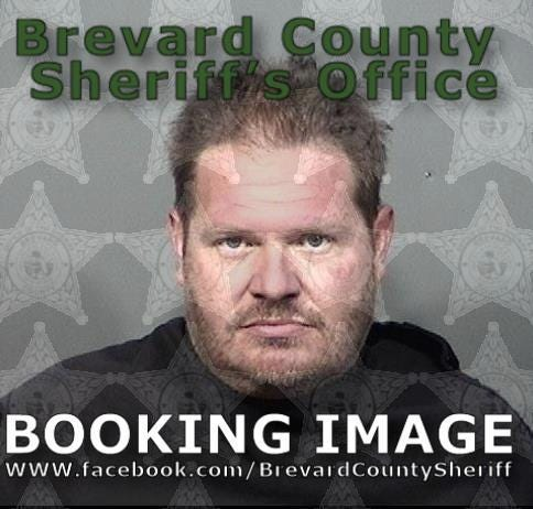 Luke James, 44, was charged with aggravated stalking and unlawfulinstallation of a tracking device when he was arrested Monday evening.