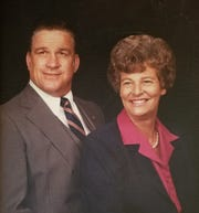 "Robert ""Bob"" Anderson and his late wife, Charlotte."