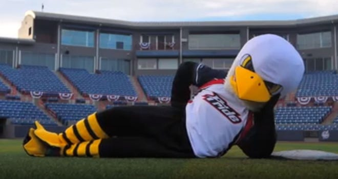 Name the mascot for the USSSA Pride softball team