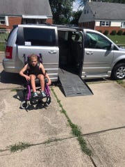 Hannah Owens' mom had been struggling to lift her into their old car. Thanks to a donation from a stranger, the family now has a wheelchair-accessible van.