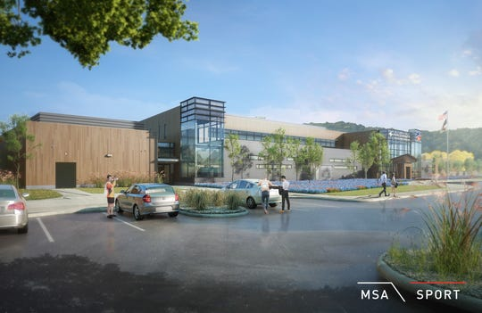 FC Cincinnati released new interior and exterior rendering of the Mercy Health Training Center in Milford.