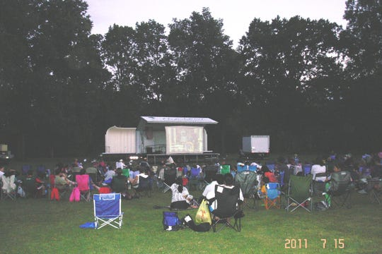 """Mary Poppins"" will be shown on Friday, July 26, at Duke Island Park in Bridgewater."