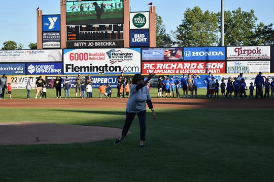 The brokerage recently hosted a 30th anniversary celebration at TD Bank Ballpark in Somerset. Employees, families and friends attended to celebrate the occasion. RE/MAX agent Elizabeth Brechka threw out the first pitch at the game.