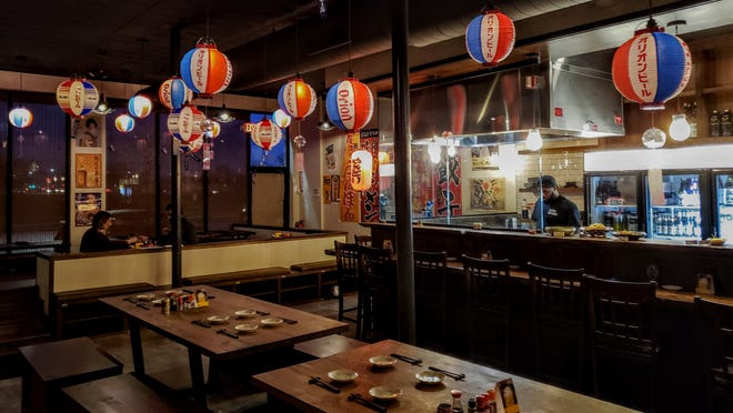 The interior of Izakaya Katsu Detroit on Wednesday, Jan. 2, 2019. Katsu, the first and only U.S. location of a Japanese gastropub chain, closed after just six months at the corner of Trumbull and Putnam in Detroit's Woodbridge neighborhood.