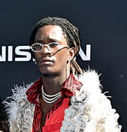 Young Thug attends the 2019 BET Awards at Microsoft Theater on June 23, 2019 in Los Angeles, California. (Photo by Aaron J. Thornton/Getty Images for BET)