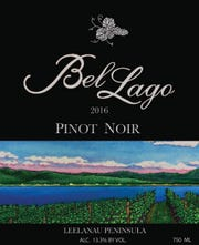 "Bel Lago Vineyards and Winery's 2016 Pinot Noir was awarded 90 points and was also highlighted in a separate story, ""30 All-American Pinot Noirs,"" the only Michigan one included."