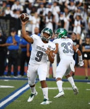 Eastern Michigan's Mike Glass III ranked second in the Mid-American Conference last season with a 158.7 pass efficiency rating.