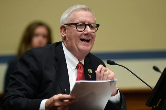 Rep. Paul Mitchell, R-Mich., said he will not seek re-election to Congress in 2020.