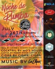 Noche de Rumba is Saturday at Mo's.