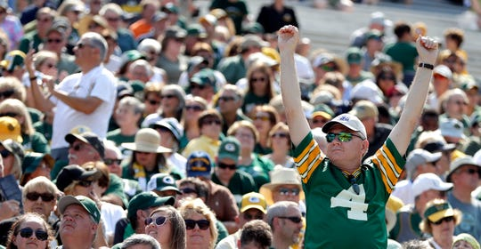 The Green Bay Packers shareholders meeting was held Wednesday at Lambeau Field in Green Bay.