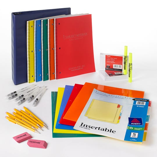 School bells will be ringing soon. Time to stock up on back-to-school supplies  (Gannett/File)