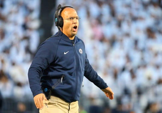 James Franklin is coming off a 9-4 season; his Nittany Lions won the Big Ten Championship Game in 2016.