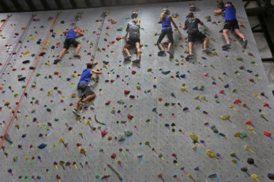 Let your child and his or her guests take the party to new heights at a climbing wall like Hoosier Heights.