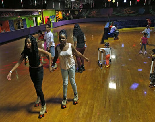 Skateland is on the west side of Indianapolis.