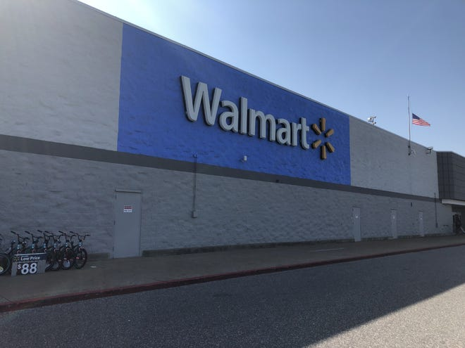 Jackson Police Department responded to a bomb threat at the Walmart store on South Highland Avenue on Nov. 10, 2019. This file photo depicts the Walmart store on Emporium Drive in Jackson, Tenn. on July 21, 2019.