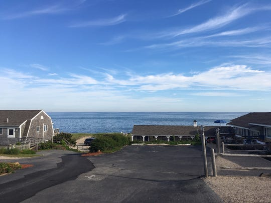 The Chatham Tides Hotel with a view of Nantucket Sound has been John and Pennye Wilkerson's Cape Cod getaway for the past 16 years.