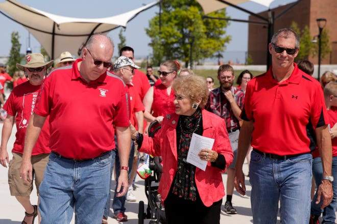 """Rep. Sheila Klinker said she is a strong supporter of public education and of the """"Red for Ed"""" movement."""