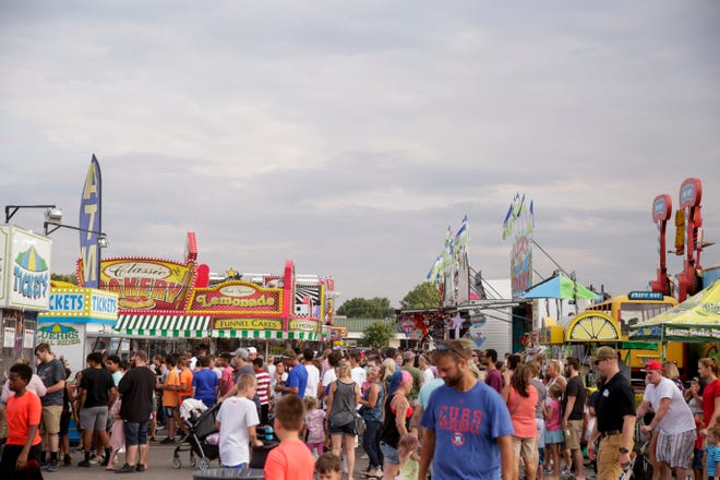 Scenes from the 2019 Tippecanoe County fair, Tuesday, July 23, 2019 in Lafayette.