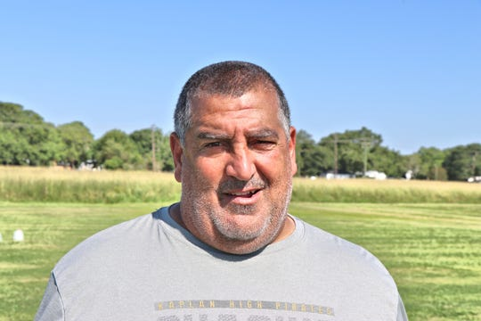 "Kaplan Football Head Coach Stephen ""Tank"" Lotief. Wednesday, July24, 2019"