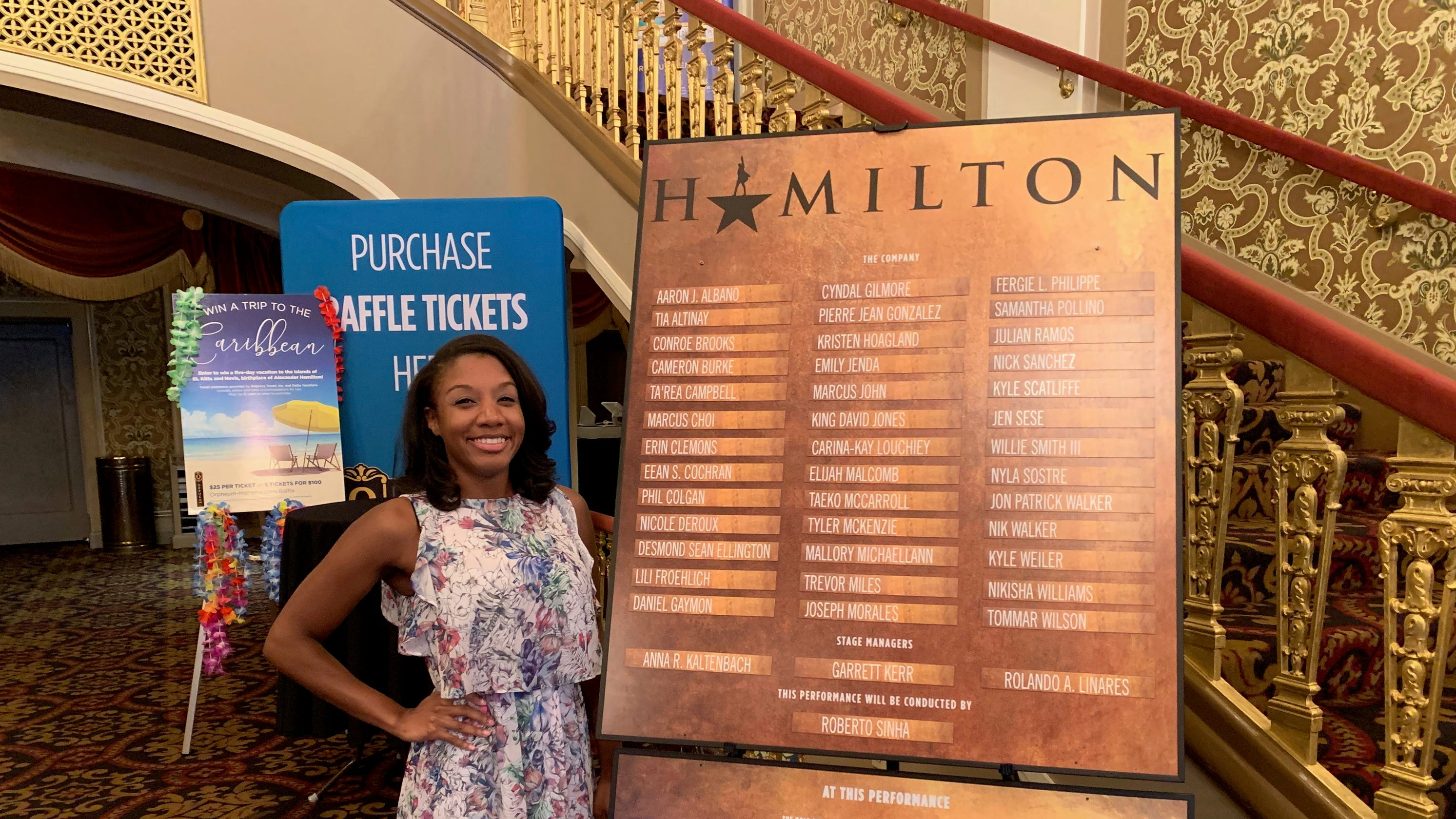 Former White Station High choir director part of Hamilton in