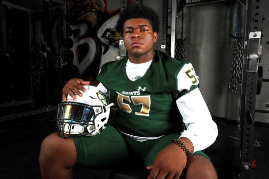 Briarcrest Christian's Omari Thomas is No. 2 in the Commercial Appeal's inaugural Dandy Dozen, a collection of the top college football prospects in the Mid-South.