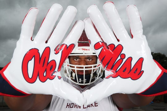 Josaih Hayes of Horn Lake has committed to Ole Miss.