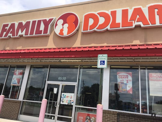 The Family Dollar store at 6550 Mt. Moriah was ordered closed by the Shelby County Health Department in May.