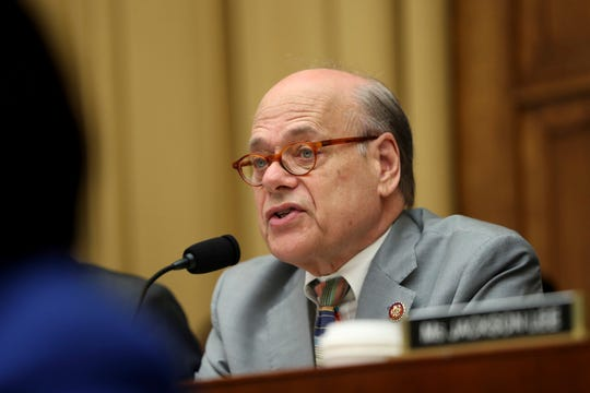 Rep. Steve Cohen, D-Tenn., asks questions to former special counsel Robert Mueller, as he testifies before the House Judiciary Committee hearing on his report on Russian election interference, on Capitol Hill, in Washington, Wednesday, July 24, 2019. (AP Photo/Andrew Harnik)