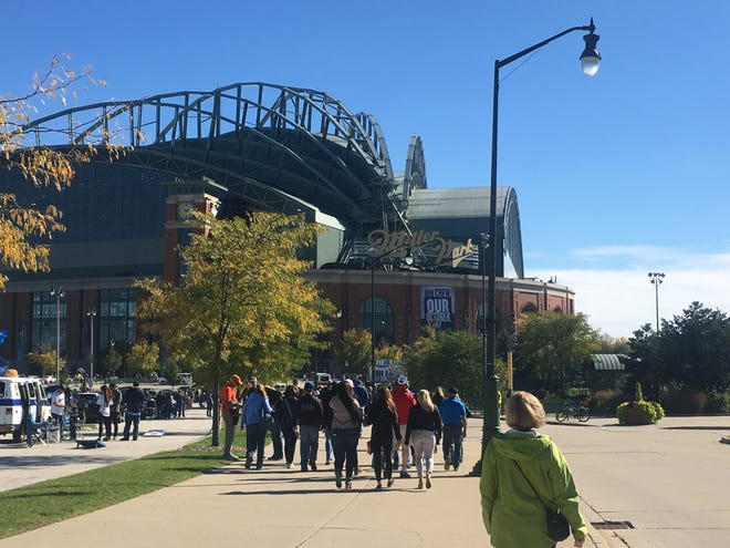 The food vendor at Miller Park is hiring employees to staff the stadium in case the Brewers make it to the playoffs again this season.
