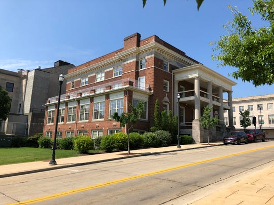 The building at 601 Lake Ave., Racine, is one of two Foxconn has purchased in the city.
